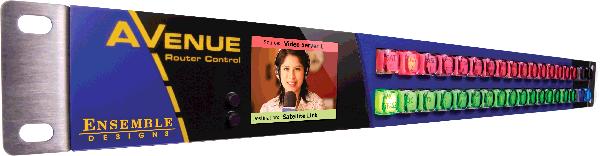 Avenue Router Control Panel